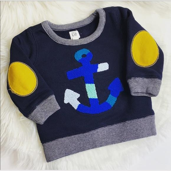 GAP Other - ✨{BabyGap} anchor sweatshirt✨